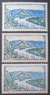 R1692/814 - 1954 - LES ANDELYS - N°977 NEUFS** - VARIETES ➤➤➤ Papier Blanc + Papier Jaunâtre + Nuance Pâle - Variétés Et Curiosités