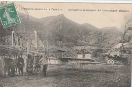 04  PREMIERS ESAIS DU ZEZE 1 DU LIEUTENANT MAGNAN Voyagee 1908 - Francia