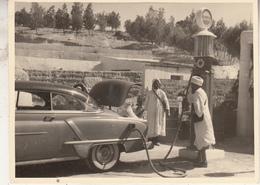 Old Timer - Station Service - Afrique - Photo 8.5 X 11.5 Cm - Automobiles