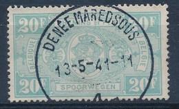 """TR 256 - """"DENÉE-MAREDSOUS"""" - (ref. 29.928) - Railway"""