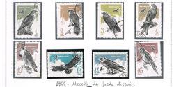 URSS -  SG  3217.3224  - 1965  BIRDS OF PREY  (COMPLET SET OF 8)      - USED°  - RIF. CP - 1923-1991 USSR
