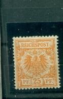 Deutsches Reich, Krone/Adler , Nr. 49 B Falz *BPP-geprüft - Deutschland