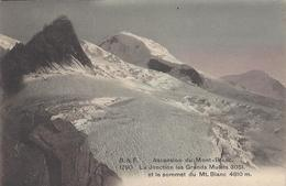 74 LES BOSSONS JONCTION DU GLACIER DES BOSSONS VALLEE DE CHAMONIX MONT BLANC EDITEUR FRANCO SUISSE BF 1790 - Chamonix-Mont-Blanc