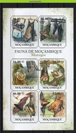 Nfo017b 2 Scans FAUNA VLEERMUIS VLEERMUIZEN BATS FLUGHUND FLEDERMÄUSE CHAUVE SOURIS MOCAMBIQUE 2011 PF/MNH # - Fledermäuse