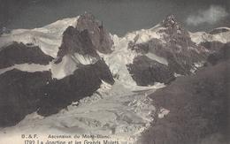 74 LES BOSSONS JONCTION DU GLACIER DES BOSSONS VALLEE DE CHAMONIX MONT BLANC EDITEUR FRANCO SUISSE BF 1792 - Chamonix-Mont-Blanc