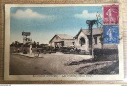 Carte Postale Of La Coquille (Dordogne) Les Peyrieres ( Relai Fleuri) France - Francia