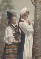 NORWAY , 1890s-1907 ; Native Women #9 - Norway