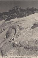 74 LES BOSSONS ALPINISTES AU GLACIER DES BOSSONS VALLEE DE CHAMONIX MONT BLANC EDITEUR FRANCO SUISSE BF 1762 - Chamonix-Mont-Blanc