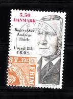 Denemarken 2001 Mi Nr 1274, 150 Jaar Deense Postzegel, Andreas Thiele - Danimarca