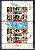 GUINEE BLOC N° 11  OBLITERE COTE 17.50€  ESPACE - Guinea (1958-...)