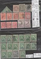 TIMBRE DE TERRE NEUVE + NEW-FOULAND  */(*)/ ° /1857 Nr VOIR SUR PAPIER AVEC TIMBRES COTE  240.80€ - Sonstige