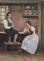 NORWAY , 1890s-1907 ; Native Couple #3 - Norway