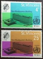 St Vincent 1966 WHO HQ MNH - St.Vincent (...-1979)