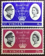 St Vincent 1966 Royal Visit MNH - St.Vincent (...-1979)