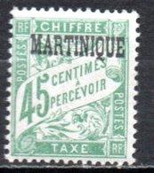 Martinique Taxe 6 ** - Portomarken