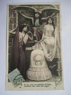 TROIS  JEUNES  FILLES   -  LA  VOIX  DES  CLOCHES     ....   PHOTO  PRINCE     TTB - Femmes