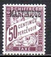Martinique Taxe 7 ** - Portomarken