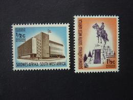 SUD OUEST AFRICAIN, Année 1962-66, YT N° 267 Et 268 Neufs MH* (cote 6,80 EUR) - Africa Del Sud-Ovest (1923-1990)
