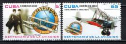 CUBA - 2003 - STORIA DELL'AVIAZIONE - FRATELLI WRIGHT - USATI - Used Stamps