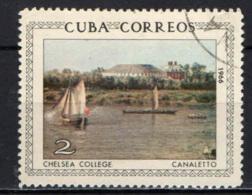 CUBA - 1966 - CHELSEA COLLEGE - CANALETTO - USATO - Cuba