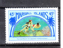 Marshall  - 1989.  Folkloristico Matrimonio Subacqueo. Scuba Diving Wedding. MNH - Ferien & Tourismus