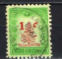 CUBA - 1952 - NATALE - CHRISTMAS - NAVIDAD - USATO - Cuba