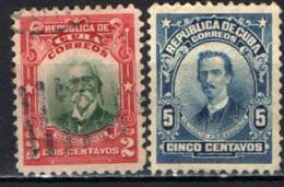 CUBA - 1910 - BARTOLOME' MASO - MAXIMO GOMEZ - USATI - Cuba