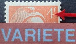 """R1692/826 - 1948 - TYPE MARIANNE DE GANDON - (PAIRE) N°808 NEUFS** - VARIETE ➤➤➤ Barre Du """" 4 """" Partielle - Variétés: 1945-49 Neufs"""