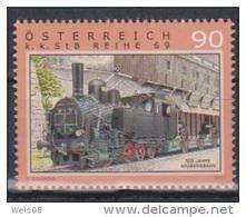 """Österreich 2011:  """"Eisenbahenen""""  Postfrisch (siehe Scan/Foto) - 1945-.... 2. Republik"""