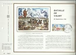 N° 178 DU CATALOGUE CEF . BATAILLE DE VALMY . 18 SEPTEMBRE 1971 . VALMY . - FDC