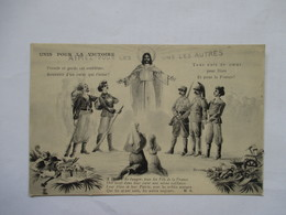 SOLDATS  ET  RELIGIEUSES     - UNIS  POUR  LA  VICTOIRE       ....    TTB - Patriotiques