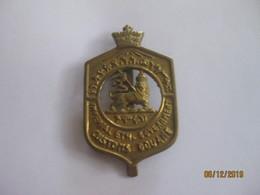 Ethiopie: Insigne Des Douanes Impériales  (Haile Selassie' Customs) Pince Cravate - Police