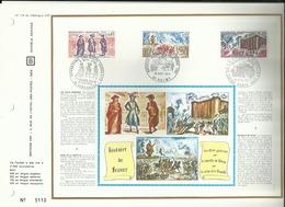 N° 179 DU CATALOGUE CEF . HISTOIRE DE FRANCE . 10 JUILLET . 0 8 MAI .18 SEPTEMBRE 1971 . VALMY . PARIS . VERSAILLES . - FDC