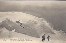 74 CHAMONIX MONT BLANC ALPINISTES DOME DU GOUTER  EDITEUR FRANCO SUISSE BF 1791 - Chamonix-Mont-Blanc