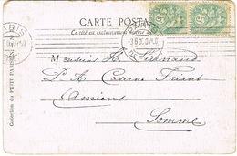 KRAG PARIS  DEPART ESSAI SUR CPA - Marcophilie (Lettres)
