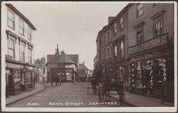 Bank Street, Braintree, Essex, 1914 - Bell RP Postcard - England