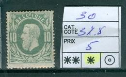 30 X Côte 37.50€ - 1869-1883 Leopold II