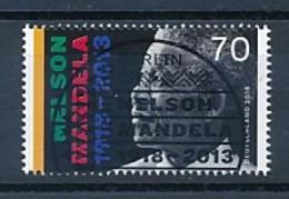 GERMANY Mi. Nr. 3404 100. Geburtstag Von Nelson Mandela - ESST Berlin -  Used - Gebraucht