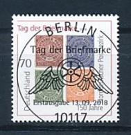 GERMANY Mi. Nr. 3412 Tag Der Briefmarke: 150 Jahre Norddeutscher Postbezirk - ESST Berlin -  Used - BRD
