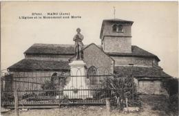 D39 - NANC - L'EGLISE ET LE MONUMENT AUX MORTS - France