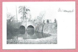 80 - MIRAUMONT - Carte Style Photo - Soldats Allemands - Pont  - Guerre 14/18 - Autres Communes