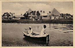 Cairo - Les Pyramides Pendent L'inondation Du Nile - 1930 - Timbre!     (A-146-190612) - Attori