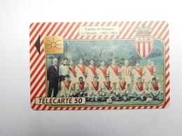 Télécarte Privée - Publique , Monaco , ME2 , équipe De Football De Monaco , ASM - Monaco