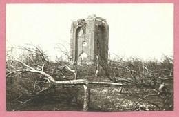 80 - CHAMPIEN - Carte  Photo - Zerstörter Turm - Tour Détruite - Guerre 14/18 - Autres Communes