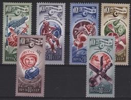 ASTR 7 - RUSSIE N° 4404/09 Neuf** Neuf** Thème Espace - Cosmonaute - 1923-1991 USSR