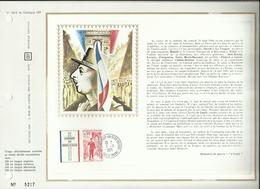 N° 182 C DU CATALOGUE CEF . GENERAL DE GAULLE . 09 NOVEMBRE 1971 . COLOMBEY - LES - DEUX - EGLISES .  . - FDC
