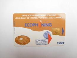 Télécarte , Armée De Terre , Ecophoning , 150FF - France