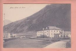 OUDE  POSTKAART - ZWITSERLAND - SCHWEIZ -    HOTEL LA ROSA  1900'S - GR Grisons