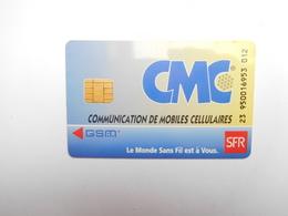 Télécarte Prépayée ; CMC , GSM , SFR - Frankrijk