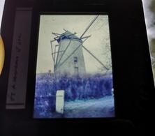 Sint Lievens Esse Molen Windmolen Dia In Frame Slide Mill Moulin - Diapositives